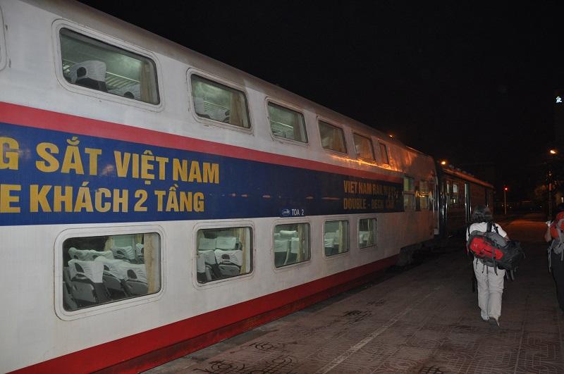 Nachttrein in Vietnam