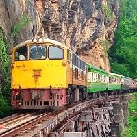 Online treintickets in Thailand boeken